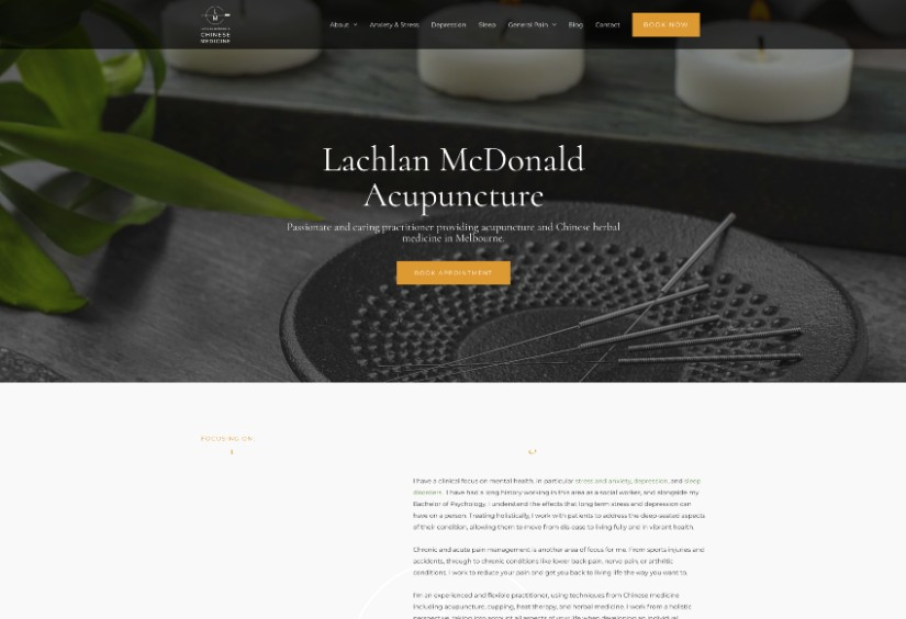 Lachlan McDonald Acupuncture Clinic